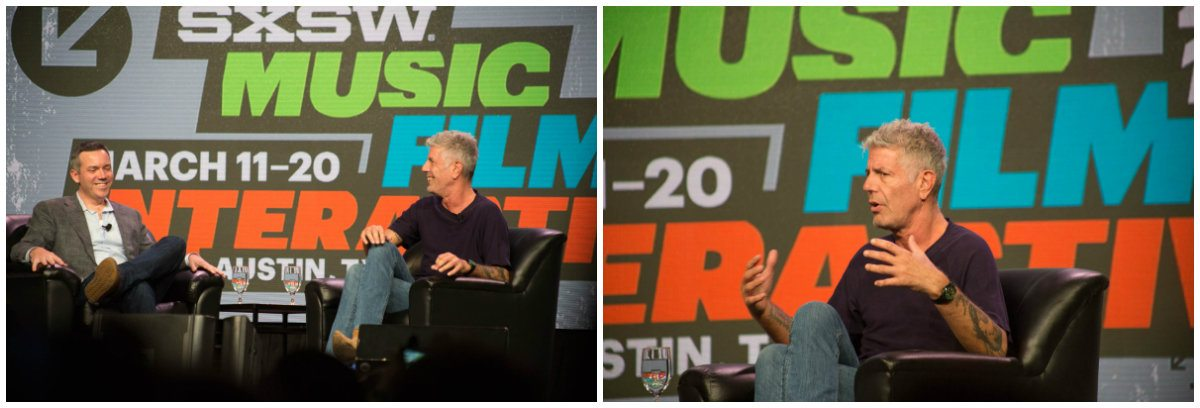 Anthony Bourdain SXSW Interactive 2016