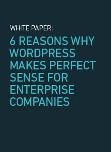 6 Reasons Why WordPress Makes Sense for Enterprises