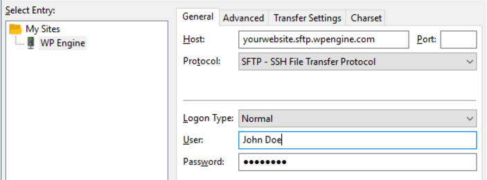 How to Access SFTP