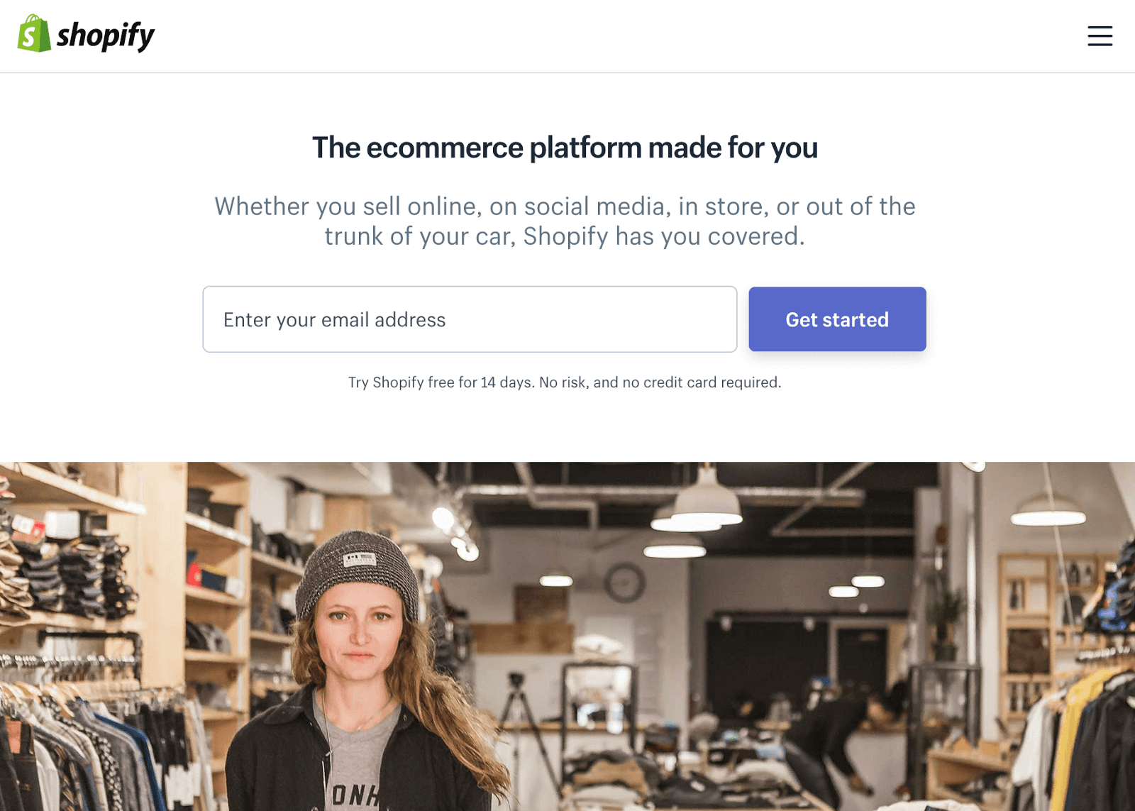 shopify for ecommerce on wordpress