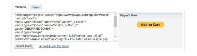 how to integrate paypal in wordpress site