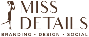 Miss Details Design Logo